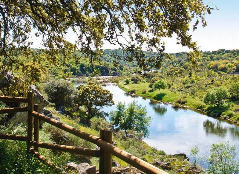 Mirador río Erjas